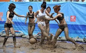 mud tackling