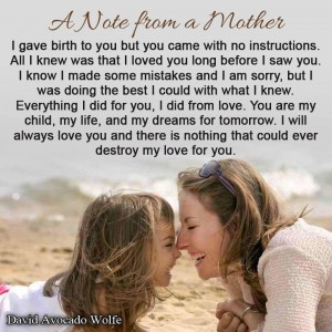 cheesy mom love photo